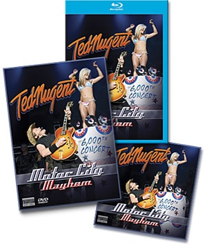 Ted Nugent Offers Free Download Of
