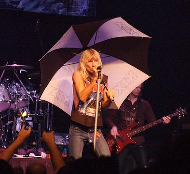 Kix Autographed Cold Shower Umbrella Being Auctioned Off