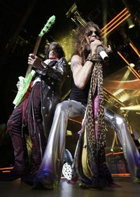 Aerosmith's Joe Perry Injured In Motorcycle Accident
