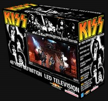 KISS Launches Limited Edition LED HDTV