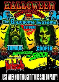 Alice Cooper And Rob Zombie Reunite For Halloween Hootenanny Tour