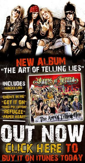 Vains Of Jenna's 'The Art Of Telling Lies' Now Available