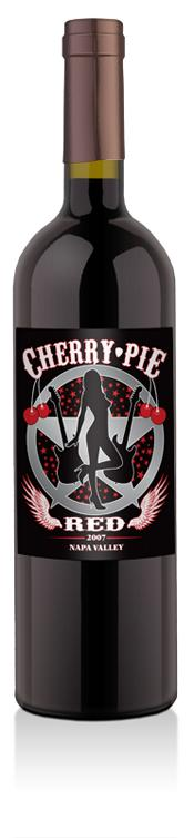 Warrant Dishes Out Cherry Pie Red Wine