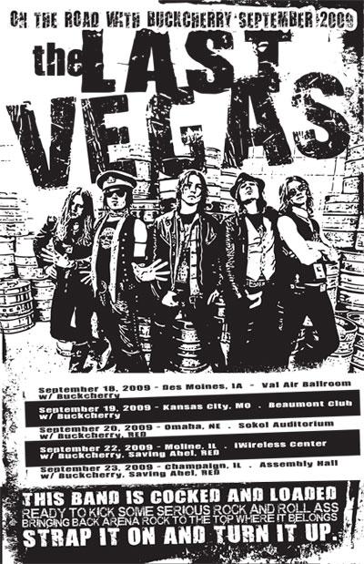 The Last Vegas Kicks Off Arena Tour With Buckcherry