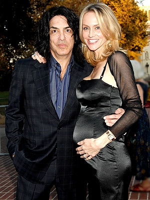 Kiss' Paul Stanley And Wife Erin Show Off Baby Belly