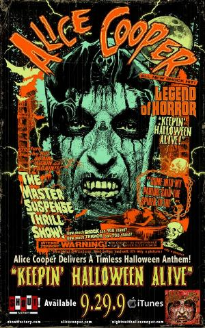 Alice Cooper Keepin' Halloween Alive With New Single