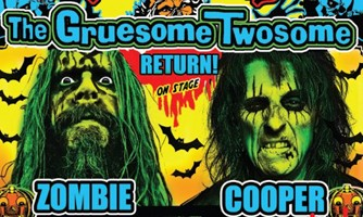 Alice Cooper And Rob Zombie Team-Up Again On Halloween Hootenanny Tour
