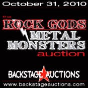 All Star Line-Up For The Rock Gods And Metal Monsters Auction Announced