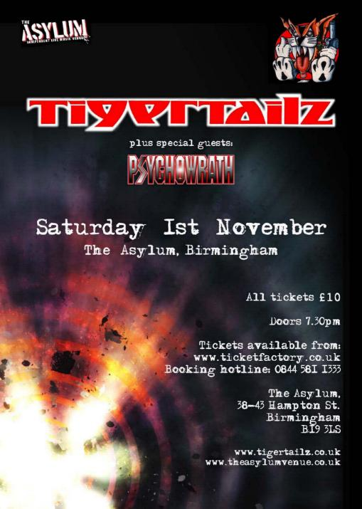 Tigertailz To Record Show For Live Release