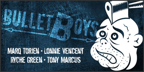 Lonnie Vencent Reunites With The BulletBoys