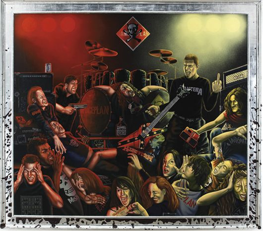 Controversial Dimebag Darrell Painting Being Auctioned