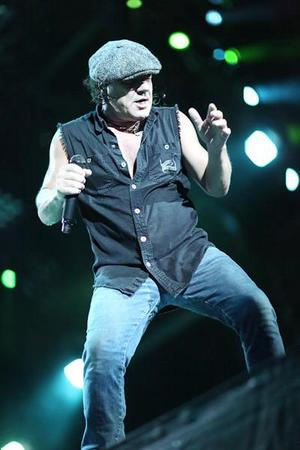 AC/DC Singer Brian Johnson Doesn't Want To Retire