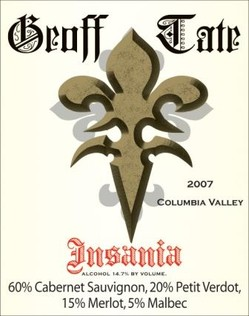 Queensryche's Geoff Tate Announces New White Wine Blend Of Insania