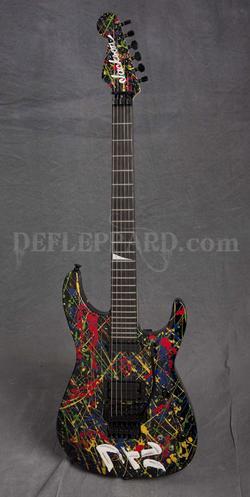 Def Leppard Guitarist Unveils Hand Painted Jackson Guitar