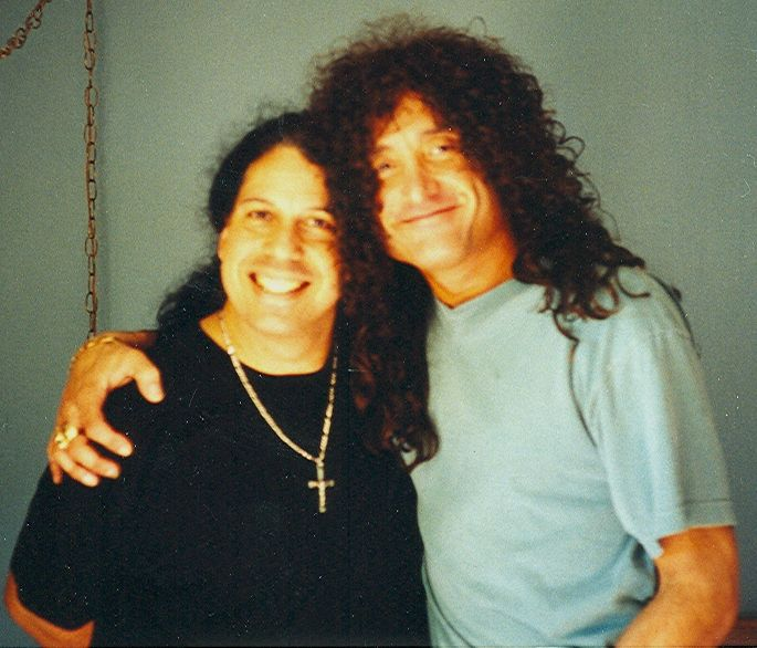 Frankie Banali and Kevin DuBrow