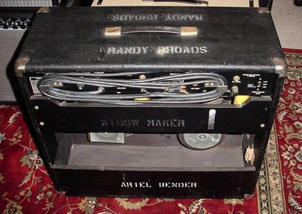 Randy Rhoads Blizzard Of Ozz Amplifier Being Sold For $12,500