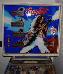 Ted Nugent Pinball Machine Being Sold On Ebay