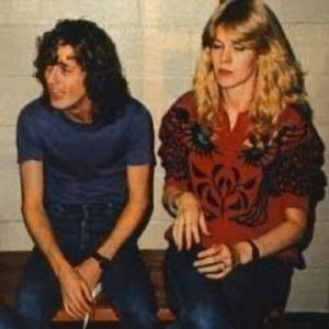 Adrian Vandenberg recalls how he played a part in introducing Angus Young to his wife Ellen