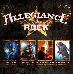 Allegiance of Rock poster