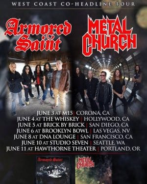 Armored Saint poster