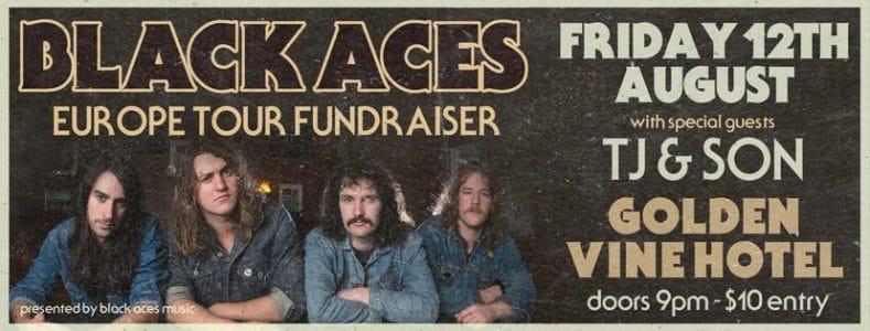 Black Aces banner