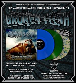 Broken Teeth CD back