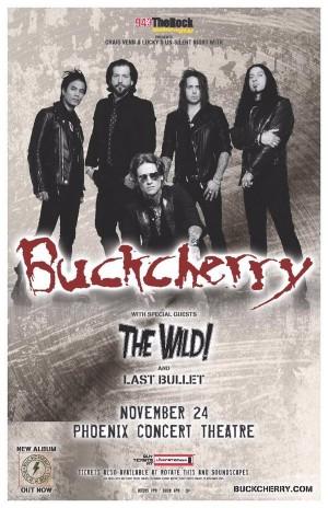 Buckcherry poster