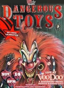 Dangerous Toys Kansas poster