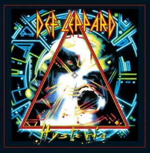 Def Leppard CD cover