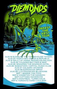 Diemonds tour poster