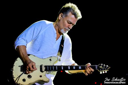 Sass Jordan recalls the last time that she saw Eddie Van Halen