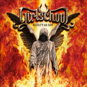 Girlschool CD cover