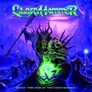 Gloryhammer CD cover