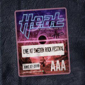H.E.A.T – 'Live At Sweden Rock Festival' (July 26, 2019)