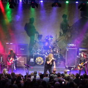 Sebastian Bach live at Mavricks Music Hall in Barrie, Ontario, Canada Concert Review