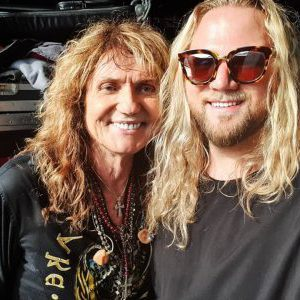 Inglorious frontman Nathan James meets his hero / Whitesnake lead vocalist David Coverdale