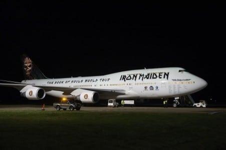Iron Maiden Ed Force One photo 2