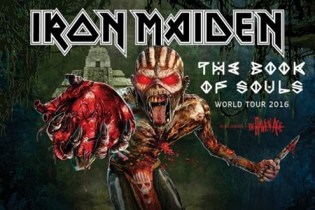 Iron Maiden tour poster