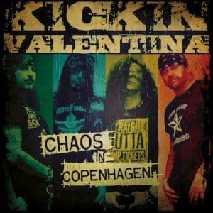 "Kickin Valentina release new single ""Sweat"" from upcoming EP 'Chaos In Copenhagen'"