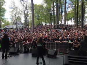 Killer Dwarfs M3 crowd photo