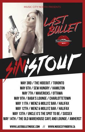 Last Bullet tour poster