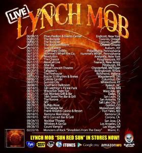 Lynch Mob tour dates