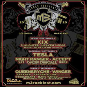 M3 Rock Festival rescheduled from May 1-3 to Sept. 4-6 but without headliner Ratt