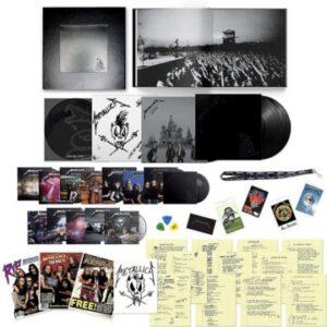 Metallica unveil details for upcoming 'The Black Album Super Deluxe Box Set'