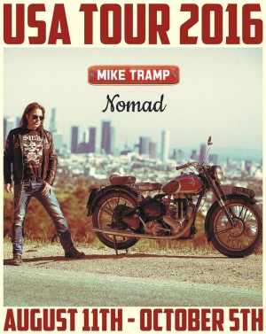 Mike Tramp tour poster