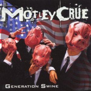 Motley Crue Generation Swine CD cover