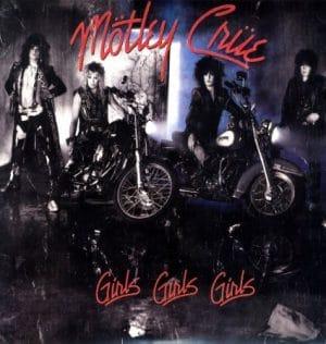 Motley Crue Girls Girls Girls CD cover