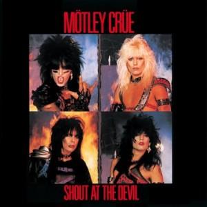 Motley Crue Shout CD cover