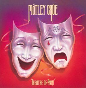Motley Crue Theatre Of Pain CD cover