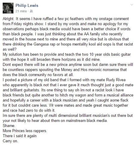 Phil Lewis post